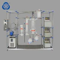 China Short Term Exposure Chemistry Distillation Kit , Essential Oil Steam Distillation Apparatus High Vacuum Pressure on sale