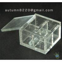 China BO (6) acrylic storage box wholesale