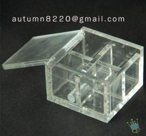 Quality BO (6) acrylic storage box for sale