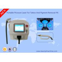 China Portable Laser Tattoo Removal Machine Picosure Picosecond 1064 Nm Q Switch Nd Yag wholesale