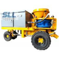 China Less Dust Wet Durable Concrete Spraying Machine High Concrete Strength wholesale
