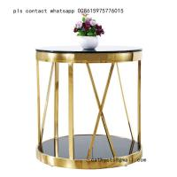 Buy cheap smart coffee table legs brass stainless steel table base modern design from wholesalers