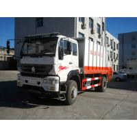 China 10m3 High Automatic Garbage Compactor Truck Weather Proof With Quick Loading Speed wholesale