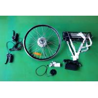 China 26'' 250W Ebike / Electric Bike Conversion Kits with rear motor rack battery wholesale