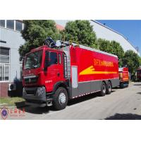 China Max Power 294kw Water Pump Fire Truck Hose Reel Retraction Speed 2.5 - 3M/S on sale