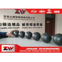 China Cast iron and forged Grinding Steel balls , Dia 20-140mm grinding media ball wholesale
