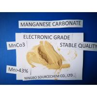 China MnCO3 Powder Chemical Raw Materials HS Code 28369990 Insoluble In Water wholesale
