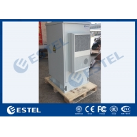 China IP55 Galvanized Steel Integrated Outdoor Telecom Cabinet With Two Doors wholesale