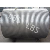 China Windlass Boat Winch Lebus Grooved Drum Carbon Steel Integral Type wholesale