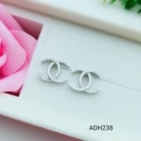 China 2018 New Style Fashionable Ear Stud Beautiful Silver Earrings For Women ADHH238 wholesale
