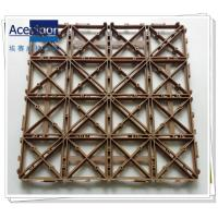 China PB-09 Grid-lock interlock plastic mat wholesale
