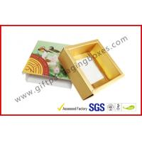 China Personalized Printed Chocolate Packaging Boxes , Food Paper Drawer Box wholesale