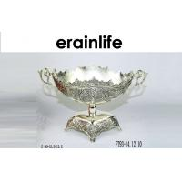 China Metal Fruit Tray / Contemporary Fruit Bowls Recycle For Home Decor Festival Gift wholesale