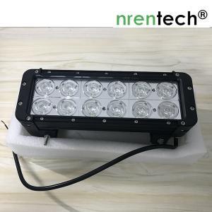 China 60W LED work light bar DC12~24V / 12inch 60W 4x4 vehicle Off-Road car led work light bar wholesale