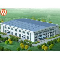 China Prefab Two Story Steel Structure Warehouse For Feed Mill Industry wholesale