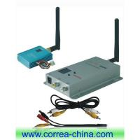 Buy cheap 2.4GHz 400mW wireless A/V transmitter receiver from wholesalers