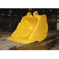 China Excavator Logging Skid Steer Grapple Bucket Rock Grapple For Mining Condition wholesale