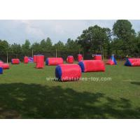 China Custom Size Inflatable Sports Games Red Color Airball Field Paint Ball For Kids wholesale