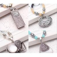 China long section all-match fox female Korean retro necklace beads sweater chain fashion wholesale