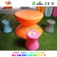China Durable Outdoor Furniture Kids Chair And Stool Environmentally Friendly wholesale