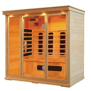 Buy cheap Hemlock Far Infrared Sauna Cabin for 1 - 5 person , Carbon / Ceramic fiber from wholesalers