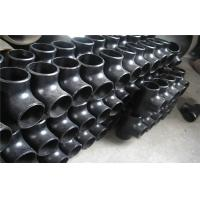 China 90 Degree Tee Pipe Fitting Corrosion Resistance For Boiler Industry wholesale
