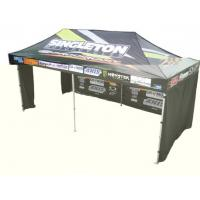 China Instant Party / Trade Show / Event aluminium pop up gazebo with 3 walls , Heat Transfer Printing wholesale