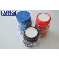 China Refill Round Washable Ink Stamp Pads Water Color Ink Toy Stamp Pad on sale
