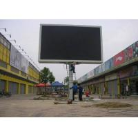 Quality Clear P10 Outdoor Full Color Post screen Led Display Billboard , Large Led Screen For Advertisement for sale