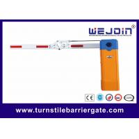 China Access Control Car Park Auto Barrier Gate System With 180 Degree Fording Arm wholesale