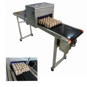 China Eggs Inkjet Date Code PrinterFor Expiry Date , Batch Code Stamping Machine wholesale