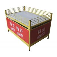 China Supermarket Promotional Tables , Portable Display Counter For Advertising wholesale