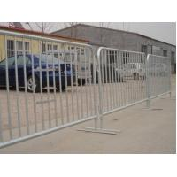 China Temporary Event Barrier Panel 38mm Diameter Pipe 1.1m wholesale