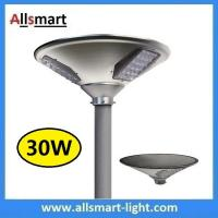 Buy cheap New 30W 3000lm UFO Solar Garden Lights All In One Parking Lot Lamp Solar Energy Products With 50W Solar Panel Aluminum from wholesalers