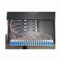 China MPO SM/FTTH/Fiber-optic Patch Panel, Easy to Install and Operate wholesale