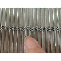 Buy cheap Decarotive Stainless Steel Architectural Mesh , Architectural Woven Mesh from wholesalers
