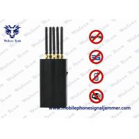 China 5 Antenna Portable Cell Phone WIFi GPS L1 Mobile Phone Signal Jammer on sale
