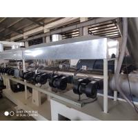 China High Speed Plastic Sheet Extrusion Line For PC Hollow Plate / Polycarbonate Profile Sheet on sale