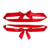 China Creative Fashion Perfect ribbon bow tie for gift wrapping , clothing address wholesale