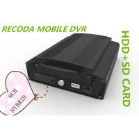 China Hybrid 8CH 1080P HDD SD card HD Mobile DVR vehicle video recorder 3G GPS WIFI wholesale