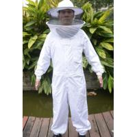 China High Quality Cotton and Terylene Beekeeping Protective Clothing with Round Bee Hat wholesale