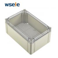 Buy cheap IP66 External Electrical Junction Box Transparent Plastic Enclosure Easy Use from wholesalers