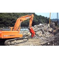 China Hydraulic Concrete Pulverizer Attachment For Excavator Hydraulic System wholesale