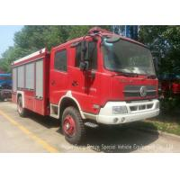 Offroad 4X4 Rescue Fire Truck With 3000 Liters Water Tank 1500 Liters Foam