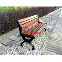 China Brown  High Density Wood Plastic Composite Bench 150 * 54 * 73cm Weather Resistant wholesale