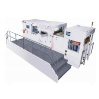 China Automatic Flat Bed Industrial Die Cutting Machine Max Paper Size 800 X 620 Mm wholesale