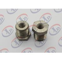 China High Precision CNC Turned Parts 304 Stainless Steel Both Threaded Hex Nuts wholesale