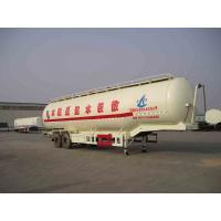 China Durability Bulk Cement Truck Transporter Trailer 2 Axles 3 Axles Optional wholesale