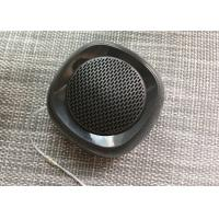 China 4 Ohm Black Portable Stereo Bluetooth Speakers A2DP HSP HFP ABS Material wholesale