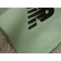 China Two Layers Color Silicon Heat Transfer Clothing Labels With Soft Hand Feel For Outdoor Garment wholesale